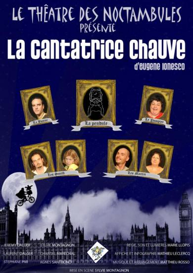 """""""La cantatrice chauve"""" d'Eugène IONESCO"""